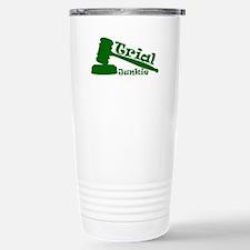 Trial Junkie (green) Travel Mug