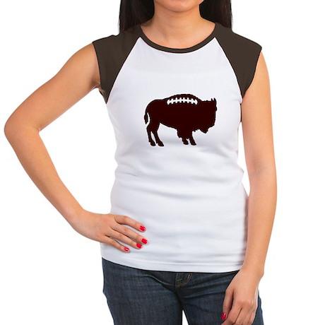 Buffalo Football Women's Cap Sleeve T-Shirt