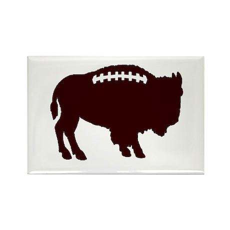 Buffalo Football Rectangle Magnet