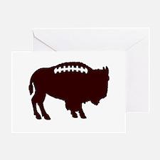 Buffalo Football Greeting Card