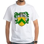Junius Family Crest White T-Shirt