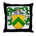 Junius Family Crest Throw Pillow