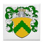 Junius Family Crest Tile Coaster