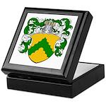 Junius Family Crest Keepsake Box