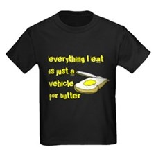 Everything I eat is a vehicle T