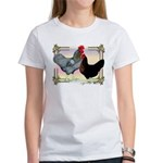 Black SL Chickens Women's T-Shirt