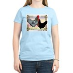 Black SL Chickens Women's Light T-Shirt
