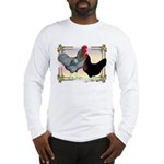 Black SL Chickens Long Sleeve T-Shirt