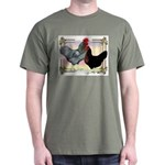 Black SL Chickens Dark T-Shirt