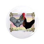 "Black SL Chickens 3.5"" Button (100 pack)"