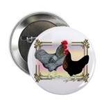 "Black SL Chickens 2.25"" Button (100 pack)"