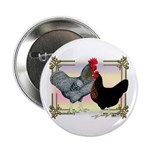 "Black SL Chickens 2.25"" Button"