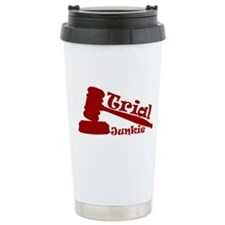 Trial Junkie (red) Travel Mug