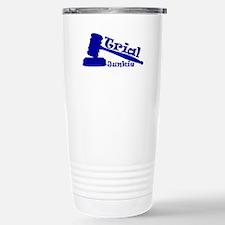 Trial Junkie (blue) Travel Mug