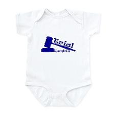 Trial Junkie (blue) Infant Bodysuit