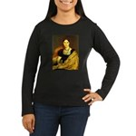 Nittis Women's Long Sleeve Dark T-Shirt