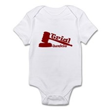 Trial Junkie (red) Infant Bodysuit