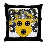 Keiser Family Crest Throw Pillow
