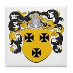 Keiser Family Crest Tile Coaster