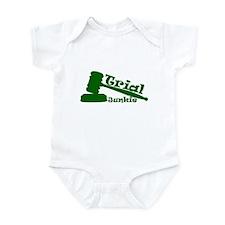 Trial Junkie (green) Infant Bodysuit