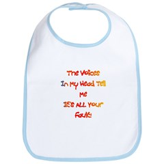 It's ALL Your Fault Gift Bib