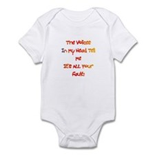 It's ALL Your Fault Gift Infant Bodysuit