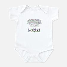 LOSER Gift Infant Bodysuit