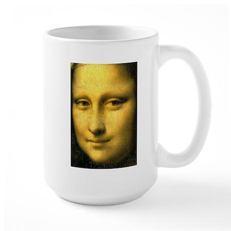 Mona Lisa Detail Large Mug