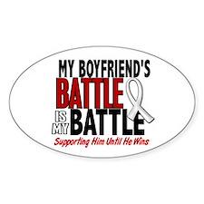 My Battle Too 1 PEARL WHITE (Boyfriend) Decal