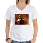 Dinner Women's V-Neck T-Shirt