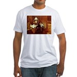 Dinner Fitted T-Shirt