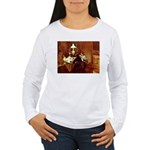 Dinner Women's Long Sleeve T-Shirt