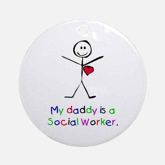 My Daddy is a SW Ornament (Round)