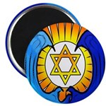 Santa Cruz Jews Magnet