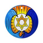 Santa Cruz Jews Ornament (Round)