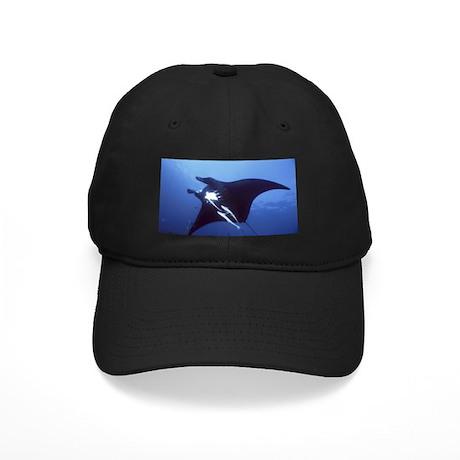 Manta Ray - Black Cap