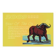 Year of the Ox Postcards (Package of 8)