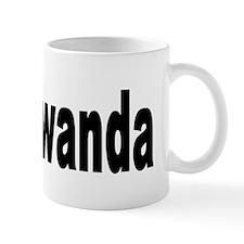 I Love Rwanda Africa Mug