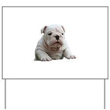 British Bulldog Yard Sign