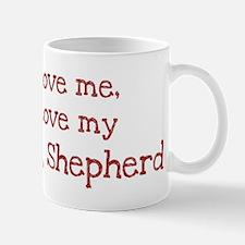 Love my King Shepherd Mug