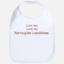 Love my Norwegian Lundehund Bib