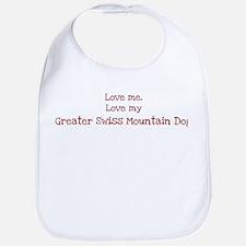 Love my Greater Swiss Mountai Bib