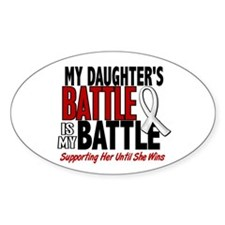 My Battle Too 1 PEARL WHITE (Daughter) Decal