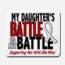 My Battle Too 1 PEARL WHITE (Daughter) Mousepad