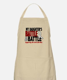 My Battle Too 1 PEARL WHITE (Daughter) BBQ Apron