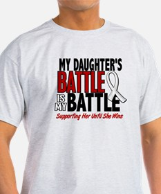 My Battle Too 1 PEARL WHITE (Daughter) T-Shirt