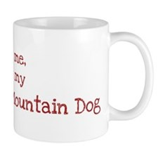 Love my Entlebucher Mountain Small Mug