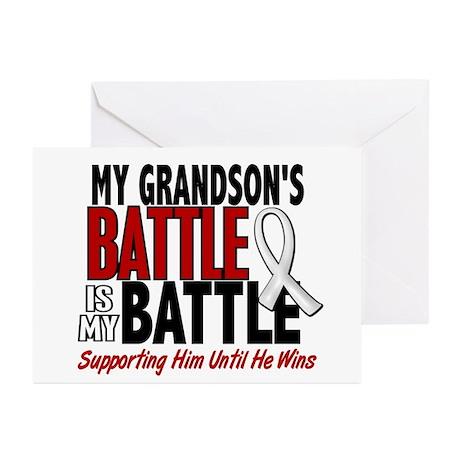 My Battle Too 1 PEARL WHITE (Grandson) Greeting Ca