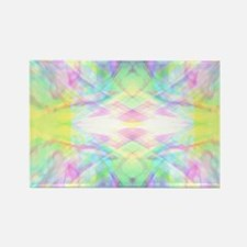 Abstract - Astral Colors Rectangle Magnet