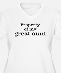 Property of great aunt T-Shirt